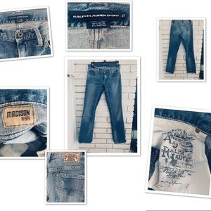 Ralph Lauren Sport  Jeans Maddison 888